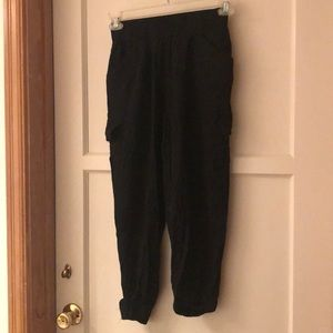 Pants - Black cargo joggers